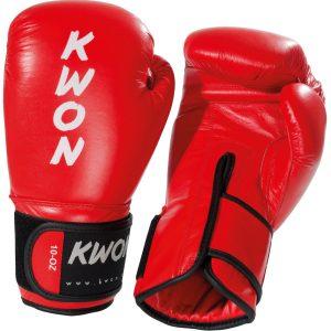 Kampfsport Ausrüstung Kwon Boxhandschuh Ergo Champ Wako DE Approved