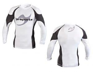 Ju-Sports Rashguard Pro C13 Weiß langarm