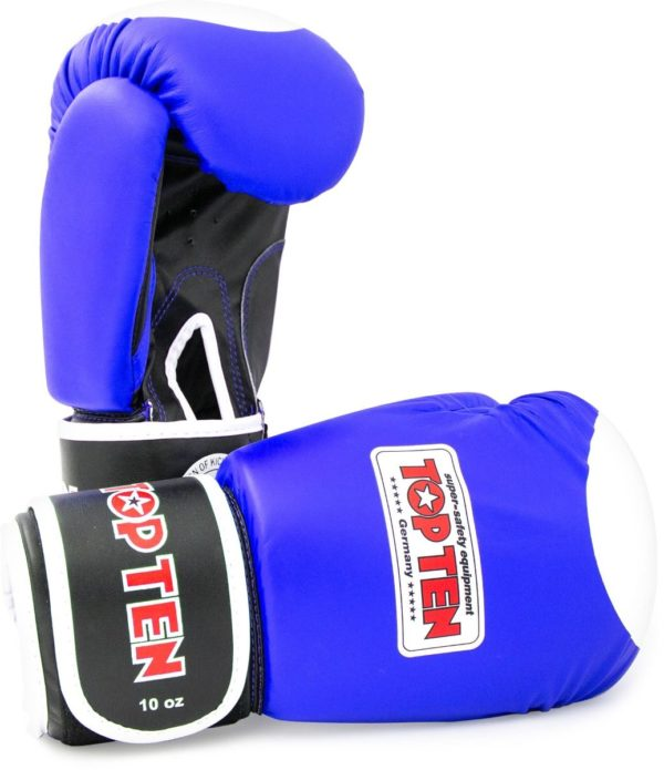 TOP TEN Boxhandschuhe WAKO Blau