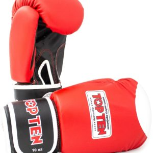 TOP TEN Boxhandschuhe WAKO Rot
