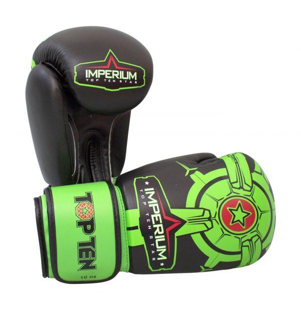 Kampfsport Ausrüstung TOP TEN Boxhandschuhe Imperium Grün
