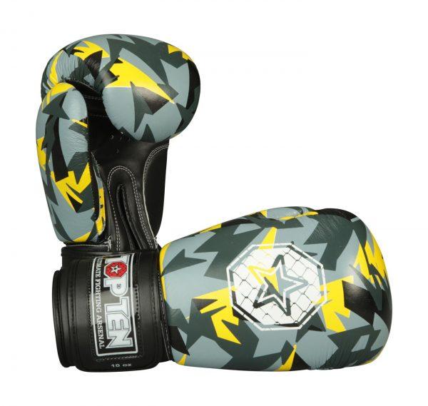 Kampfsport Ausrüstung TOP TEN Boxhandschuhe Jungle Gelb