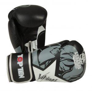 Kampfsport Ausrüstung TOP TEN Boxhandschuhe Vikings Weiß
