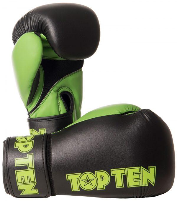 Kampfsport Ausrüstung TOP TEN Boxhandschuhe XLP Grün