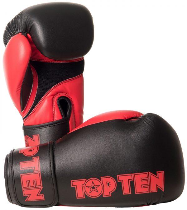 Kampfsport Ausrüstung TOP TEN Boxhandschuhe XLP Rot