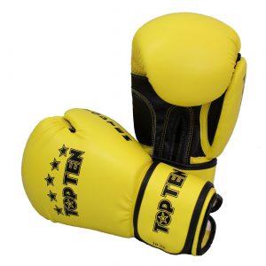 Kampfsport Ausrüstung Topten Boxhandschuhe R2M 2016 Gelb-Schwarz