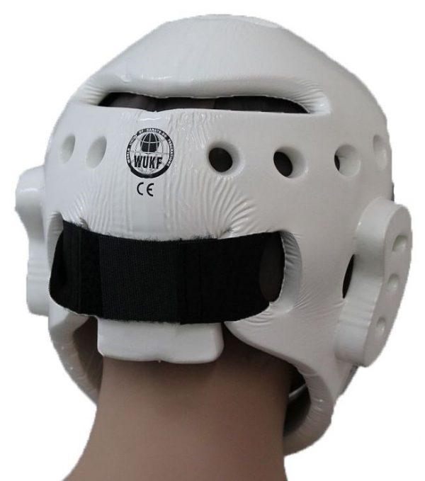 Hayashi Kopfschützer mit Gesichtsmaske Approved by WUKF