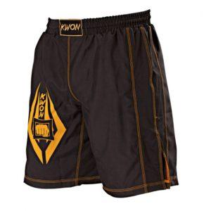 Kwon Freefight Shorts Schwarz-Gelb