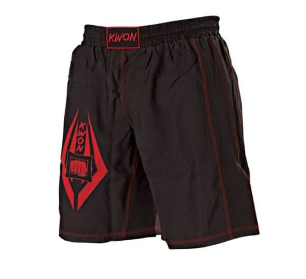 Kwon Freefight Shorts Schwarz-Rot