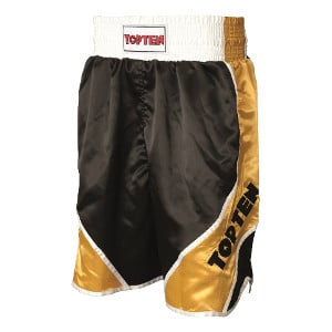 Top-ten-boxing-shorts-shiny-schwarz-gold-wc