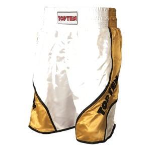 Top-ten-boxing-shorts-shiny-weiß-gold-wc