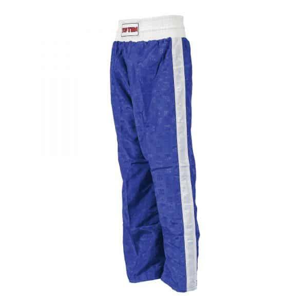 Top Ten Kickboxhose Classic Blau Weiß