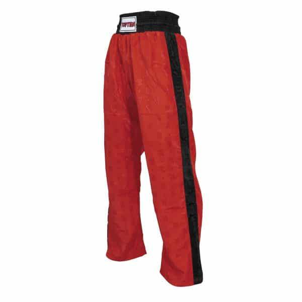 Top Ten Kickboxhose Classic Rot Schwarz