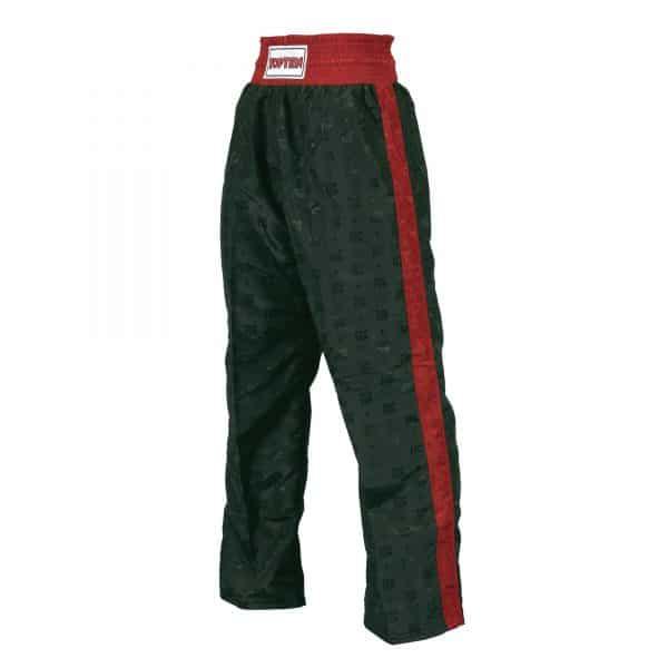 Top Ten Kickboxhose Classic Schwarz Rot