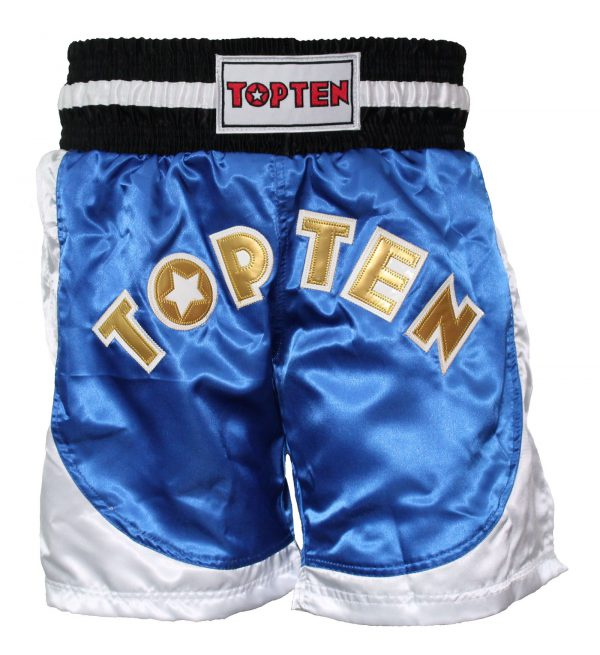 Top Ten Kickboxing Shorts Kick Light Blau