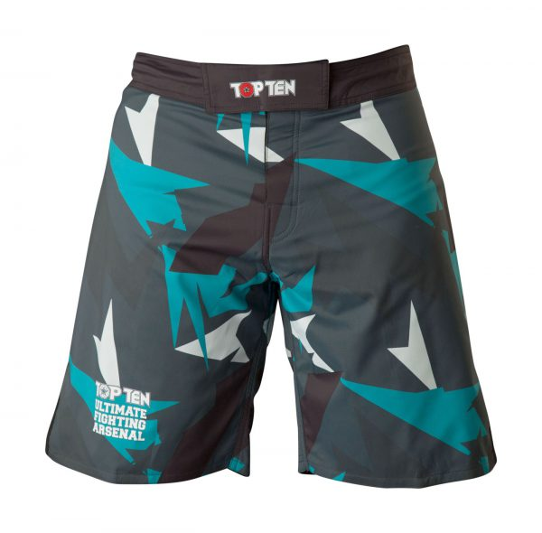 Top Ten MMA Shorts Jungle Schwarz-Blau
