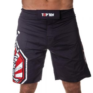 Top Ten MMA Shorts Sunrise Rot