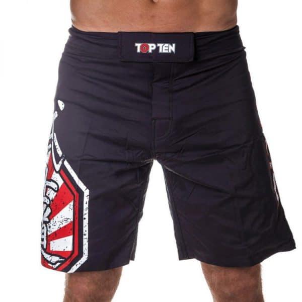 Top Ten MMA Shorts Sunrise Rot