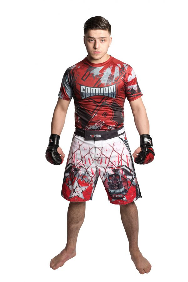 Top Ten Rashguard Samurai Kurzarm