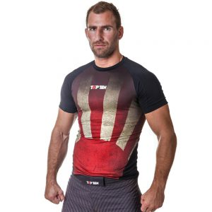 Top Ten Rashguard Sunrise Kurzarm