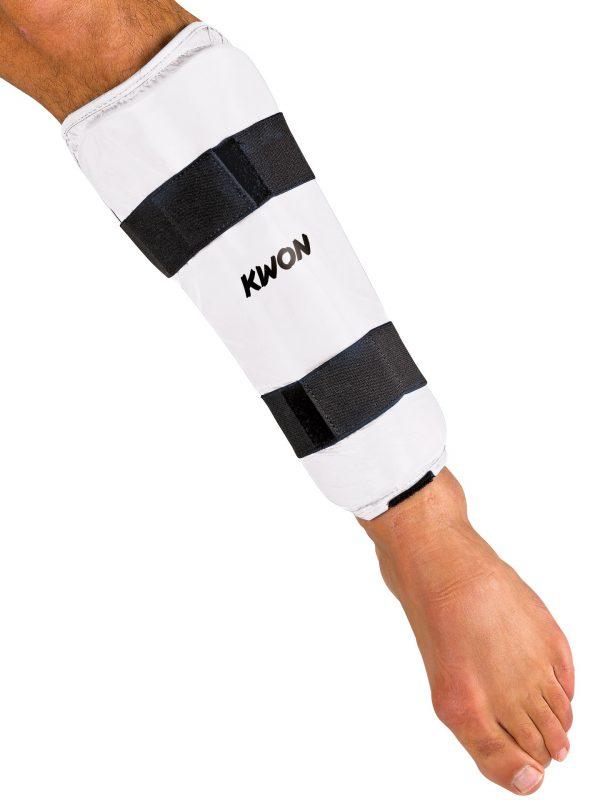 KWON Karate Schienschützer CE Weiß