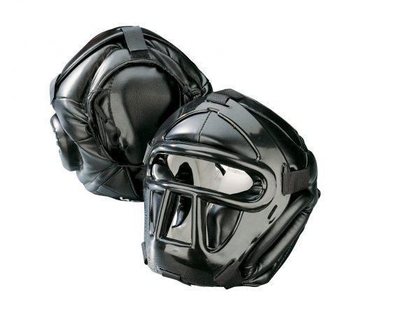 Kwon Kopfschützer Black Line mit Top Pad CE