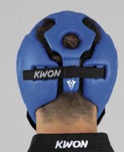 Kwon Shocklite Kopfschützer CE Approved by WAKO DE WKU Blau