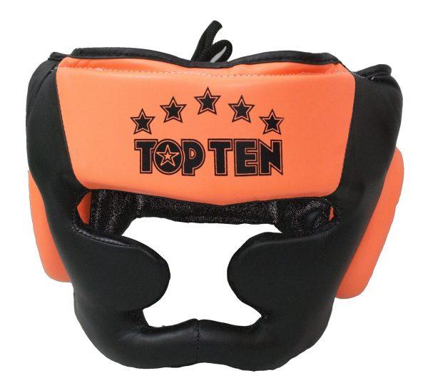 Top Ten Kopfschützer Eco R2M Line Neon Schwarz-Orange