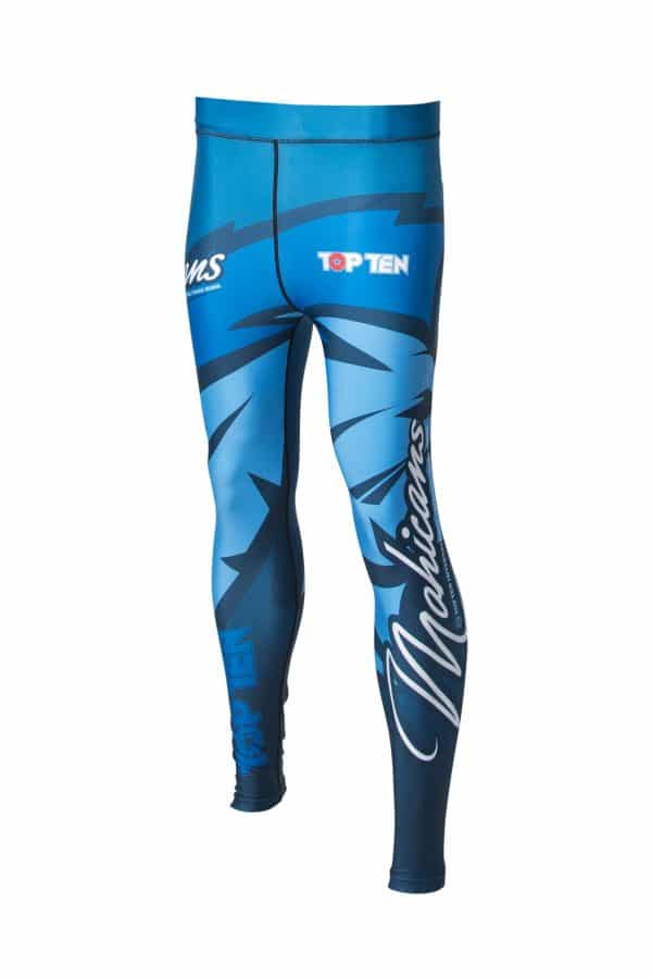Top Ten MMA Compression Legging Mohicans