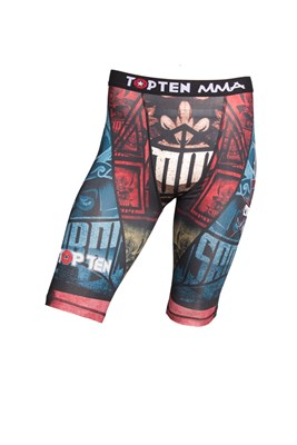 Top Ten MMA Compression Shorts Samurai Design II