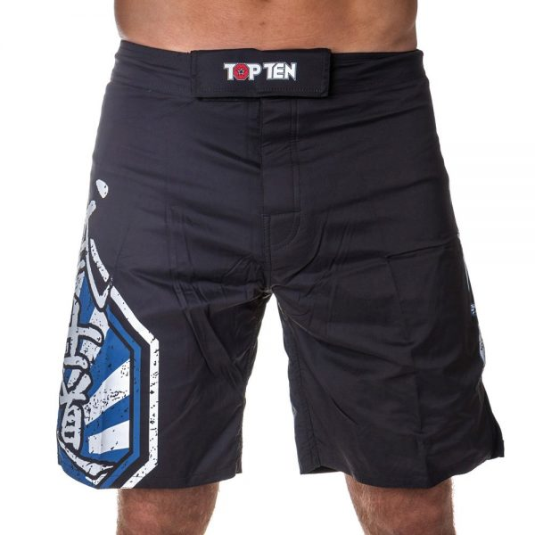 Top Ten MMA Shorts Sunrise Blau
