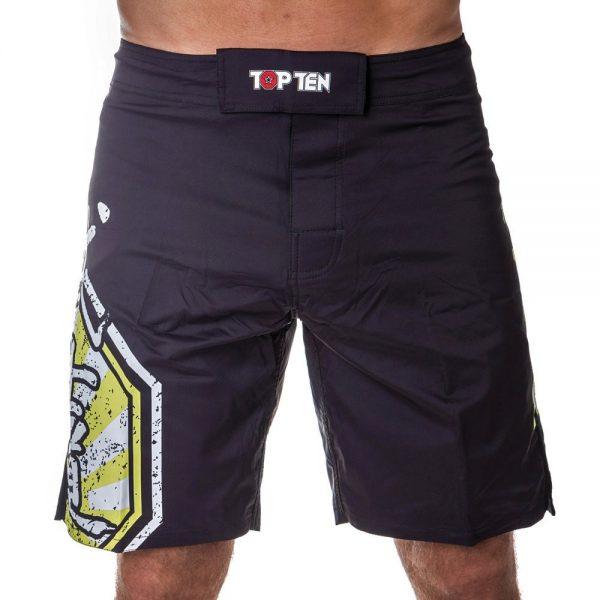 Top Ten MMA Shorts Sunrise Gelb