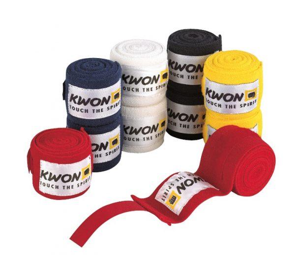 Kwon Boxbandagen 2,5m elastisch