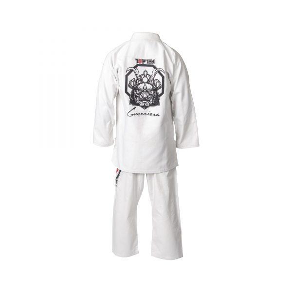 Top Ten Brazilian Jiu Jitsu Anzug Guerriero Weiß
