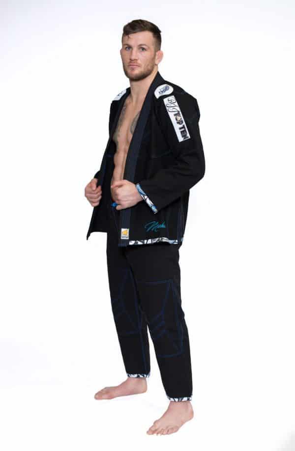 Top Ten Brazilian Jiu Jitsu BJJ Wettkampf GI Mohicans Schwarz