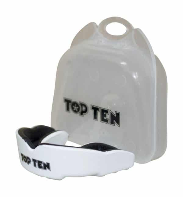 Top Ten Zahnschutz Combat TPR Weiß-Schwarz