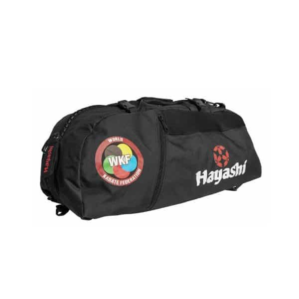 Hayashi Rucksack Tasche WKF Schwarz