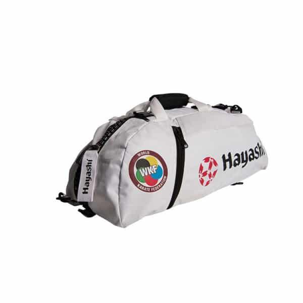 Hayashi Rucksack Tasche WKF Weiß