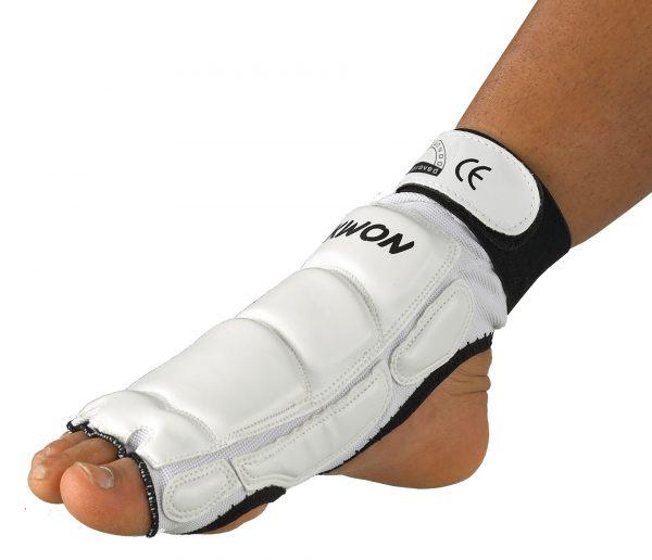 Kwon taekwondo fußschützer ce
