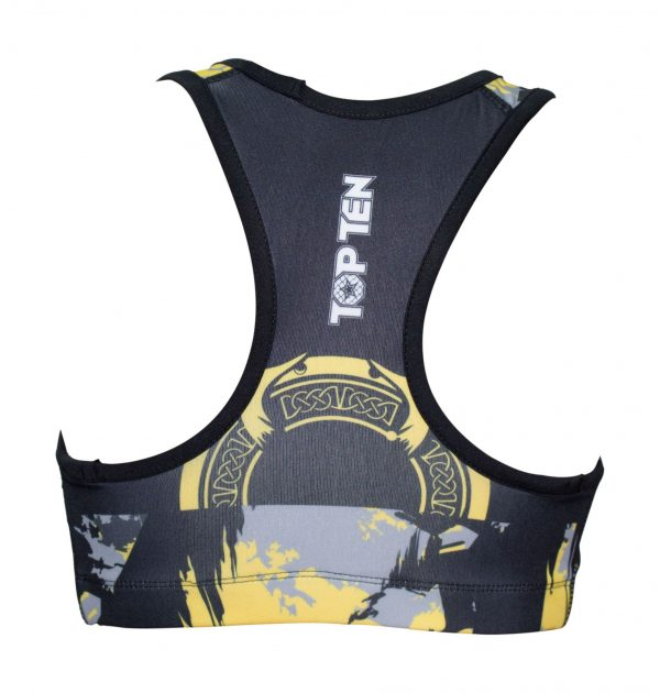 Top Ten Sports Bra Samurai Gelb