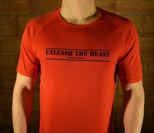 Unleash the Beast Funktionsshirt Herren Rot