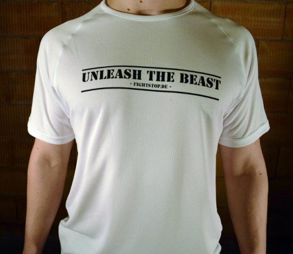 Unleash the Beast Funktionsshirt Herren Weiß
