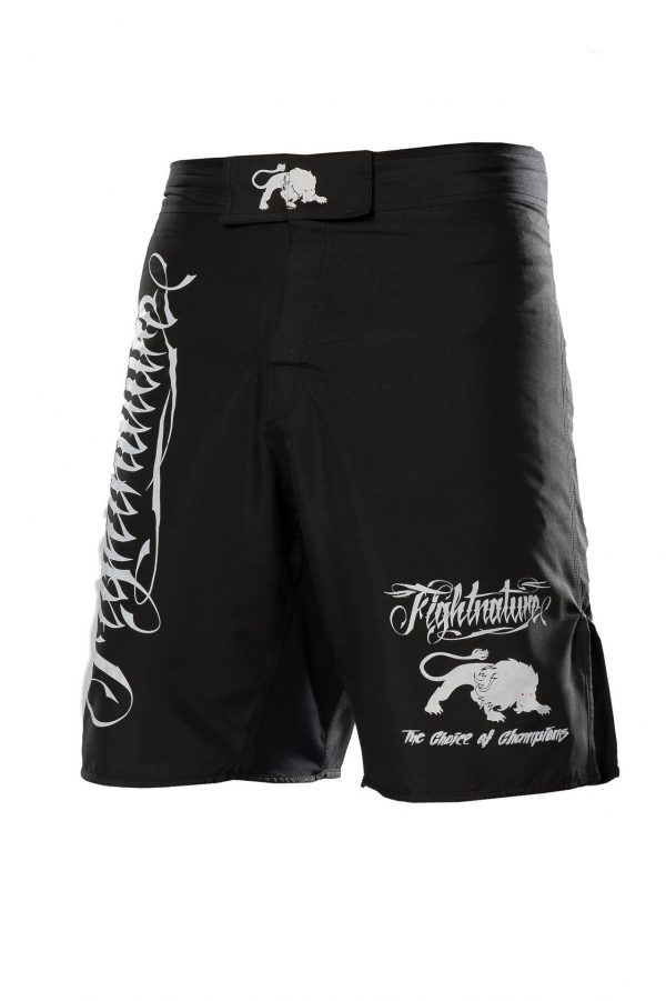 Fightnature MMA Shorts Schwarz
