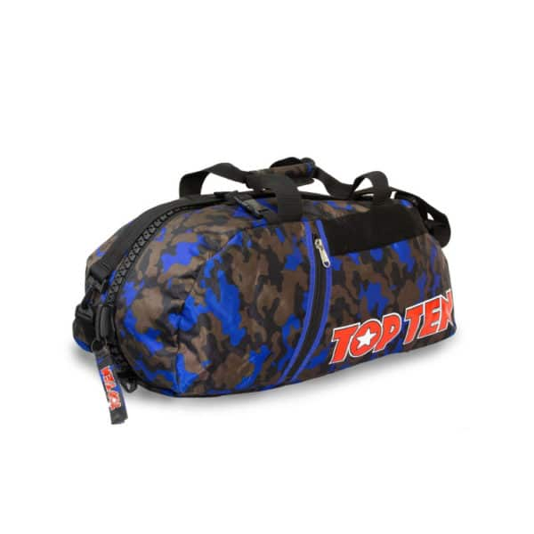 Hayashi Rucksack Tasche Camouflage Blau