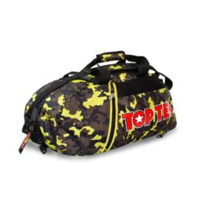 Hayashi Rucksack Tasche Camouflage Gelb