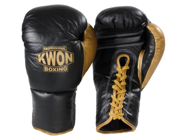 Kwon Boxhandschuhe Leder mit Schnürung