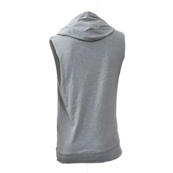Top Ten Hooded Tank Top Biceps Grau