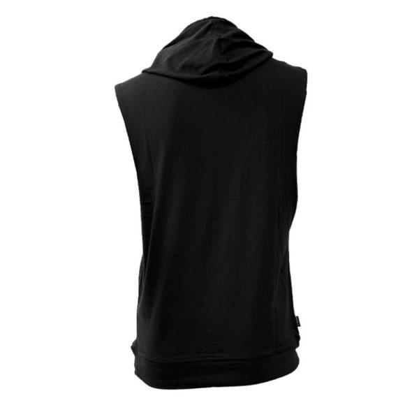 Top Ten Hooded Tank Top Biceps Schwarz
