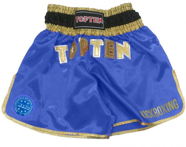 Top Ten Kickboxing Shorts Approved by WAKO I blau