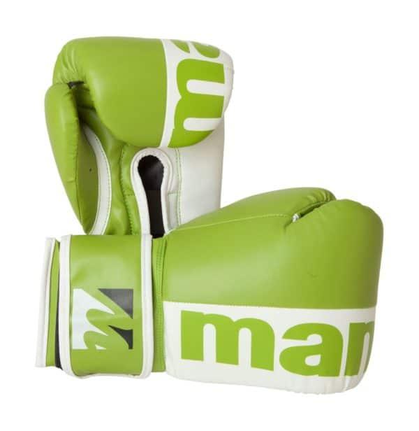 Manus Boxhandschuhe 2colour Grün-Weiß